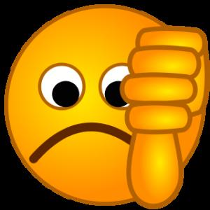 beschreibung-smirc-thumbsdown-svg-xd7fzl-clipart